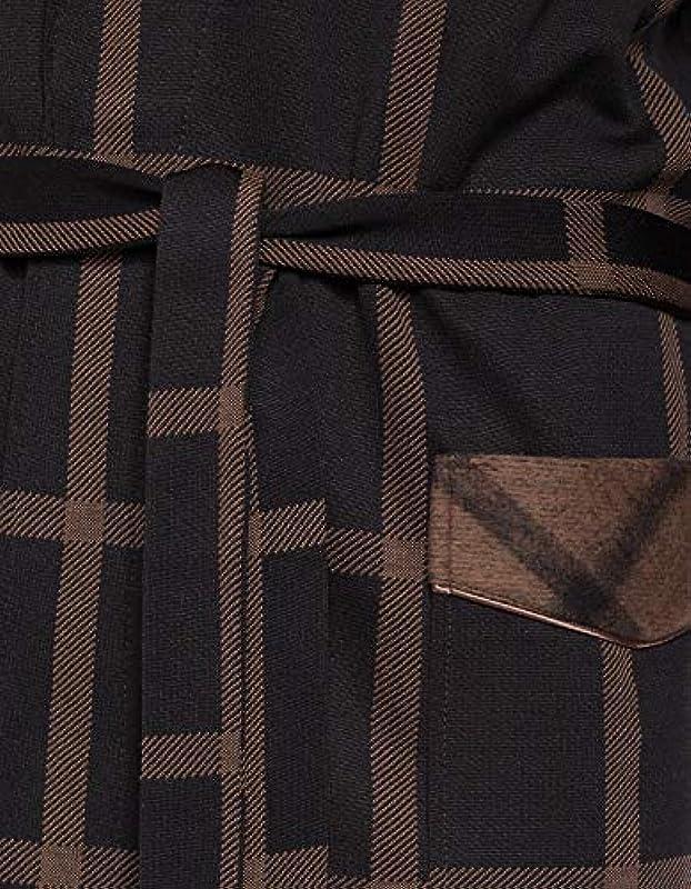 Revise Męski szlafrok poranny RE-511 - elegancki i miły: Odzież