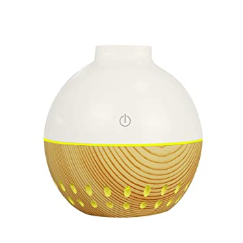 Air Purifier Aroma Essential Oil Diffuser LED Ultrasonic Aromatherapy Humidifier
