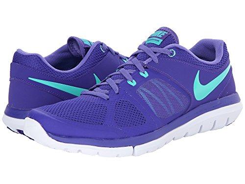 Nike Vrouwen Flex 2014 Running Shoes Eendracht / Purple Haze