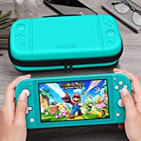 GameHome Compatible para Nintendo Switch Lite Funda Protectora, Ligera Rígida Estuche con 16 Cartuchos de Tarjetas de Juego Funda Compatible con ...
