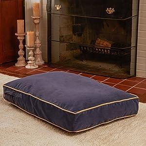 B004ZJTGIOJ4M Buster Dog Bed, 18 by 24-Inch Extra Small, Denim blue
