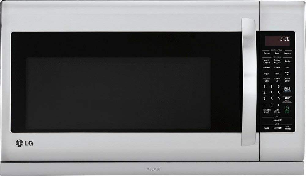 LG - 2.2 Cu. Ft. Over-the-Range Microwave - Stainless steel by Lucarat