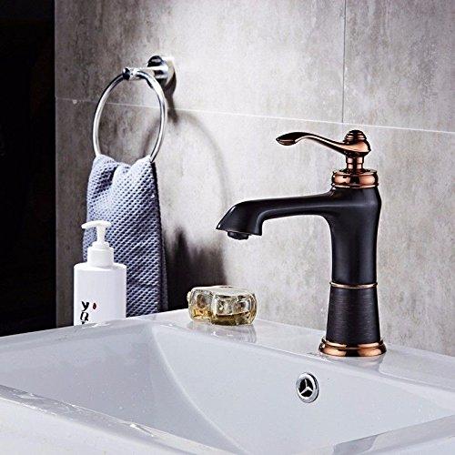 IJIAHOMIE Waschtischarmatur Badarmatur Wasserhahn Bad,Wassersparfunktion,Wasserfall Wasserhahn Becken
