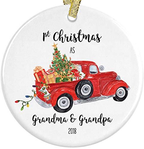 Our First Christmas as Grandma and Grandpa 2018