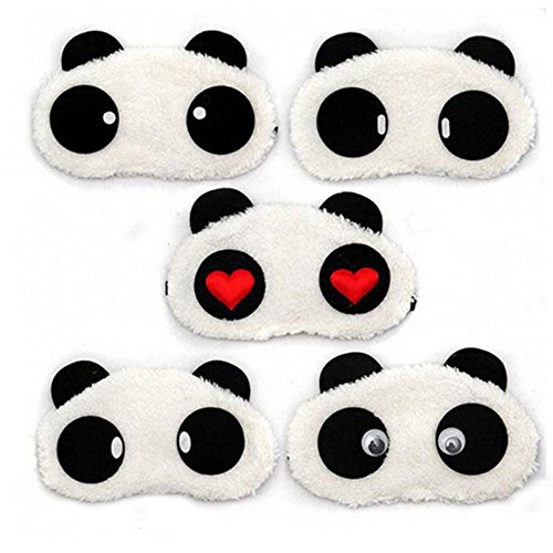 2015 Lovely panda Face Sleep Masks panda Eye Mask Sleeping Blindfold Nap Cover Hot
