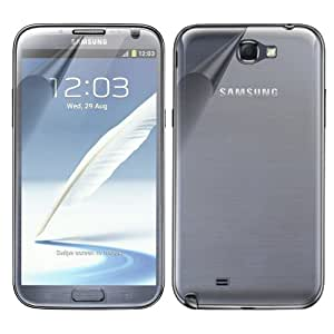 Samsung GALAXY NOTE 2 II N7100 XtremeGUARD FULL BODY Screen Protector Front+Back (Ultra CLEAR)