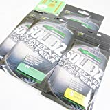 FTD - Min 3 packs of KORDA SOLIDZ PVA Bag System for Carp Fishing - Each pack comes with a Bag Loader - Available in Extra Small, Small, Medium & Large - comes with 10 FTD Hooks to Nylon