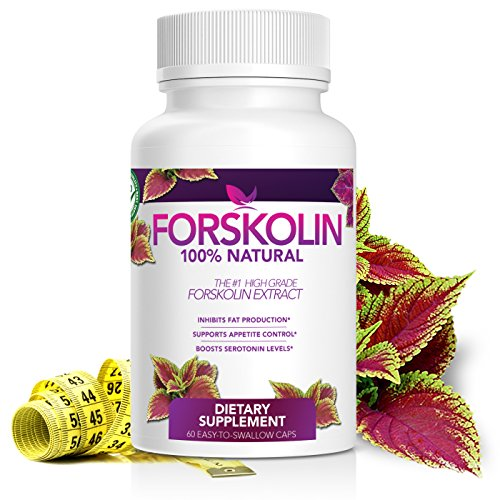 100% Pure Forskolin Extract – #1 Weight Loss Supplement – 1 Month Supply – Made in USA Quality Product – Natural Appetite Suppressant & Weight Loss – Order Risk Free! For Sale