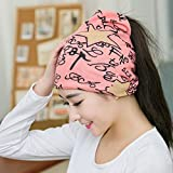 Pyrsun(TM) Multifunction Casual Beanies for Women Knitted scarf Winter Hats Hip-hop cap letter star Skullies Spring Autumn hat