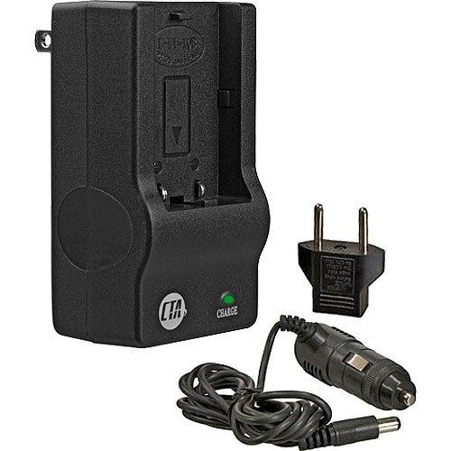 CTA MR-LI10B Mini Battery Charger Kit for Olympus LI-10B Battery