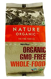 Amazon.com : Nature Organic Pearl Millet Flour (Bajra