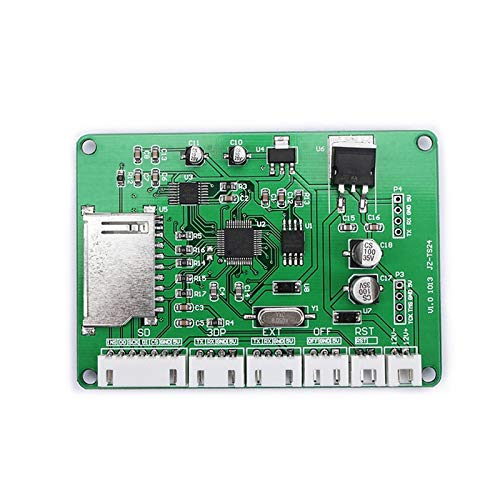 Zamtac 1 Set 3D Printer Parts 2.8inch Full Color Touchscreen Board Compatible with Ramps1.4 MKS XR649 - (Color: Green) by GIMAX (Image #2)