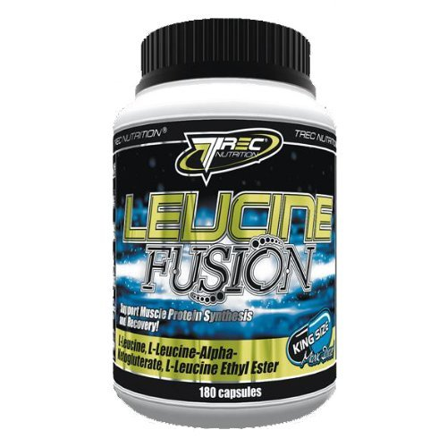Trec Leucine Fusion 180 Kapseln -- Anabolic Leucin Matrix L-Leucin NEU