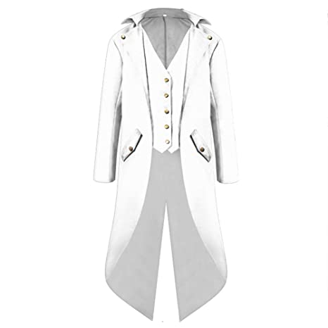 Wtter Chaqueta Steampunk Vintage Tailcoat para Hombre, Manga ...