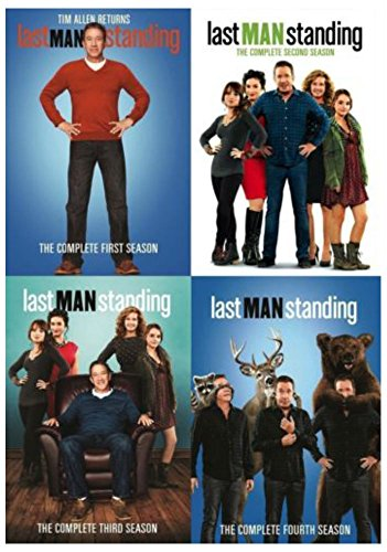 LAST MAN STANDING: Tim Allen TV Series Complete Seasons 1-4 1 2 3 4 Box DVDS Set (Mens President Series Watch)