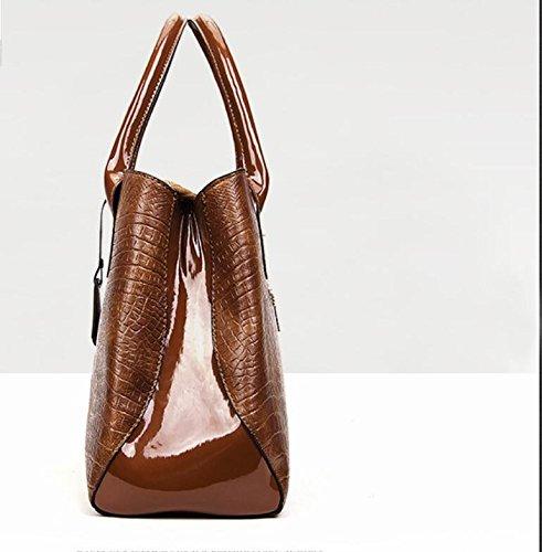 todos señoras bolsa bolso Meaeo son match de bangalor Bolsos atmósfera grande cocodrilo FwfwYI8xq