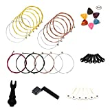 You are a guitarist and often break the guitar string accidentally.   In the store or Amazon can easily buy the strings but the tools are very expensive.   You just buy 3 sets of strings MUKEZON, then we will send you a tool of replacing strings. ...