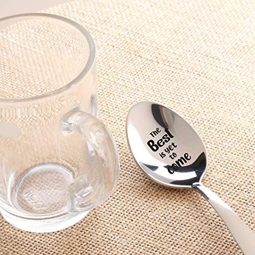 Wedding Anniversary Engagement Engraved Spoon Gift | Bridal Shower Gift | Inspirational Graduation Gift For Teen Girl…