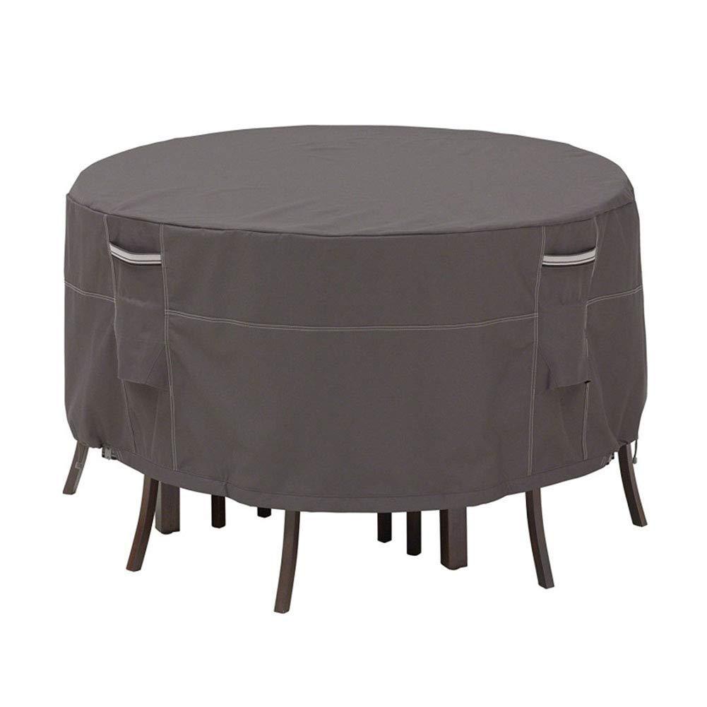 ダストカバーガーデン家具カバー屋外テーブルと椅子カバーバルコニー防水防滴防塵保護カバー丸テーブルカバー600Dオックスフォード布(4サイズ) (サイズ さいず : 274 x 58cm) 274 x 58cm  B07L3TVS1H