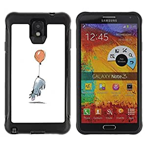 SHIMIN CAO@ Minimalist Cartoon Kids Rugged Hybrid Armor Slim Protection Case Cover Shell For Note 3 Case ,N9000 Leather Case ,Leather for Note 3 ,Case for Note 3 ,Note 3 case