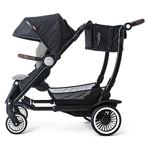 Austlen Entourage Baby & Toddler Stroller: Travel System Double Strollers for Boys & Girls - Navy