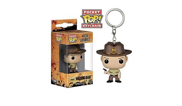 The Walking Dead Rick Grimes Pop! Figura de vinilo Llavero ...