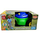 Play Day Push N Bubble Mower with Realistic Sounds