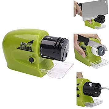 Afilador de cocina multi funcional, afilador eléctrico de ...