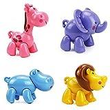 Infant Baby Push Toys Educational Animals Toy Set
