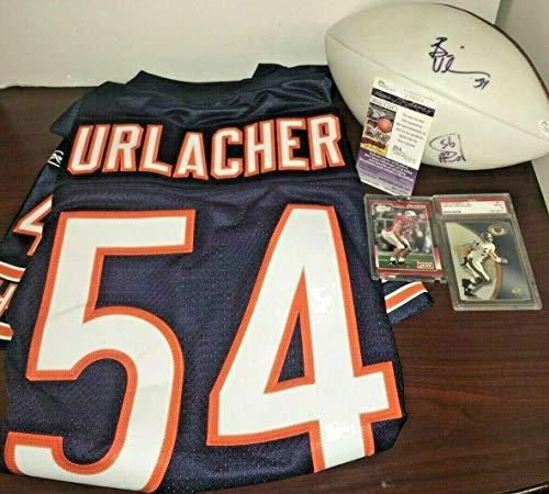 Brian Urlacher Signed Football - 9