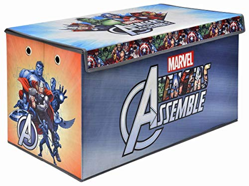 Avengers Folding Soft Storage Bench, Perfect Toy Box or Chest for Playrooms, Officially Licensed Product]()