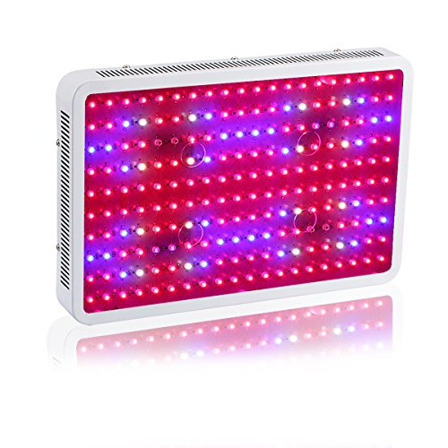 Gianor 2000W Led Grow Light Full Spectrum Double Chips Led Light Grow with UV/IR for Greenhouse Plant Veg and Flower