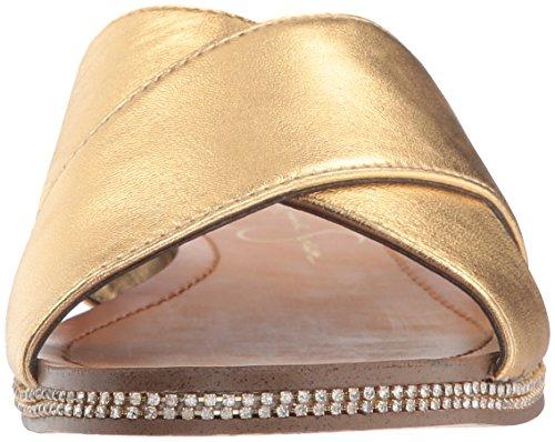discount 2014 newest Manchester Jessica Simpson Women's Brinella Flat Sandal Karat Gold Ucb4yrKG