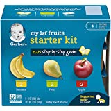Gerber Purees My 1st Fruits (Fruits Starter Kit, Pack - 2)