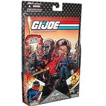 "G.I. JOE Hasbro 25th Anniversary 3 3/4"" Wave 5 Action Figures Comic Book 2-Pack Destro vs. Iron Grenadier"