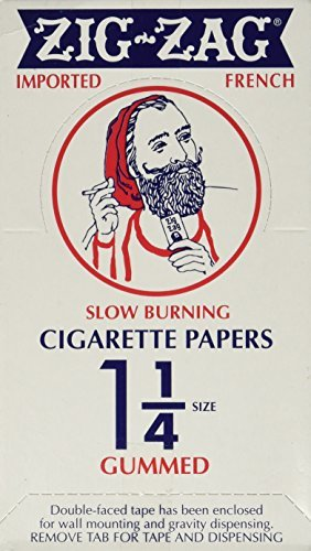 Zig Zag 1 1/4'' 24ct Rolling Papers Orange Box - 33 leafletsper Pack - 24 Packper Box by Zig Zag