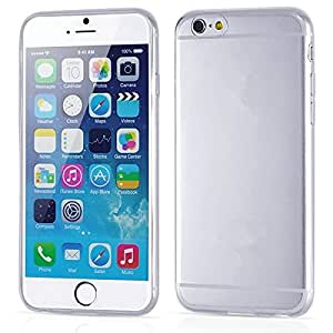 """10 pcs/lot Transparent Cover For iPhone 6 6g 4.7"""" TPU Soft Silicon Cover Matte Anti-Finger Print Clear Phone Case Wholesale --- Color:Yellow"""