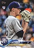 2018 MLB Topps Update US82 Eric Lauer RC Rookie San Diego Padres Official Baseball Trading Card