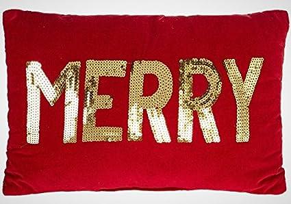 Christmas Pillows.Amazon Com Set Of 2 Christmas Pillows Christmas Throw
