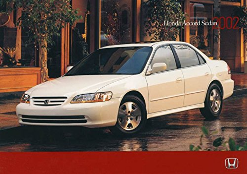 2002 Honda Accord Sedan ORIGINAL Factory Postcard