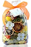 48 HOUR SALE~ Manu Home Signature Sparkling Citrus Potpourri Bag-12 oz Scented Botanicals ~ Made with All Plant Materials and Beautiful Sap from Trees~ Made in USA