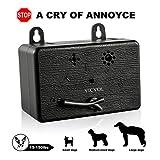 Best Dog Barking Deterrents - Vicvol Mini Dog Bark Control Device, Outdoor Anti Review