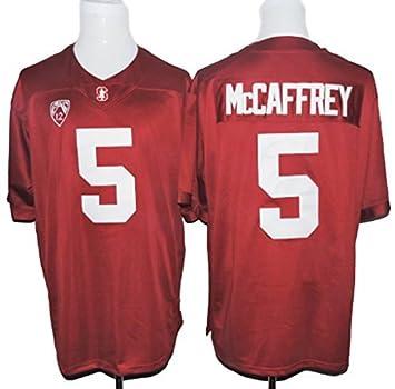 25f33d7d Men's Christian McCaffrey 5 Stanford Cardinal College Football Jersey Red  XXX-Large