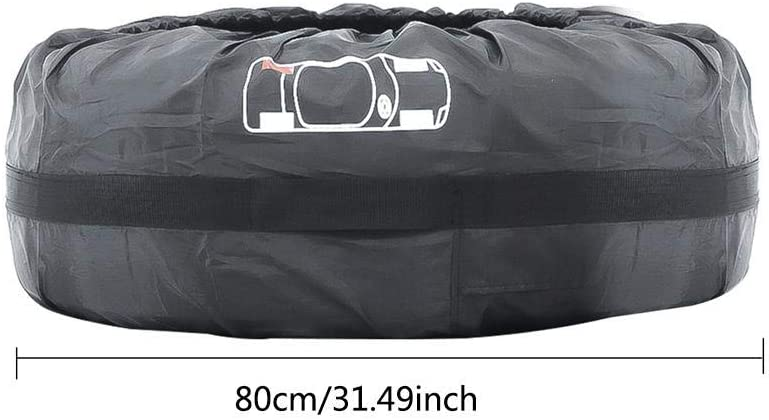 leegoal Set of 4 Wheel Tire Covers Universal Fits Tire Diameters 13-22 inch Tough Oxford Wheel Protector for Jeep Truck SUV Trailer Camper RV C7-3193
