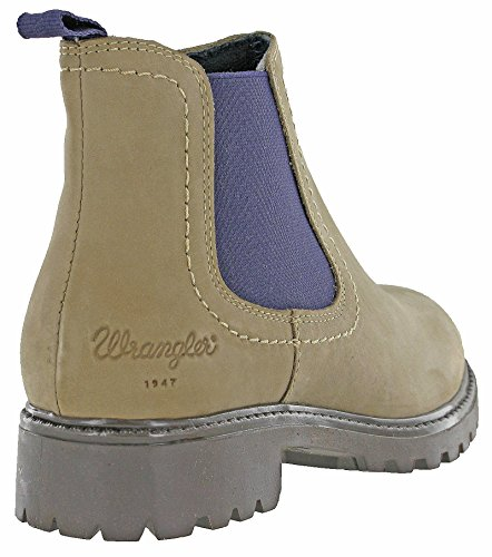 Wranglers, Bottes pour Femme Taupe / Purple
