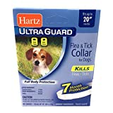Dog Flea Treatment Collar - Flea Collar for Small Dogs Waterproof 7 Months Protection Fits Necks Up to 20 Inches