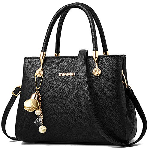 WangWang Women Top Handle Handbags Satchel Tote Purse Shouler Bags Messenger Bags For Ladies