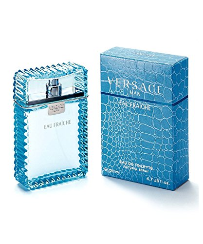 Man Eau Fraiche Eau De Toilette Spray Men by Versace, 6.7 - Versace New