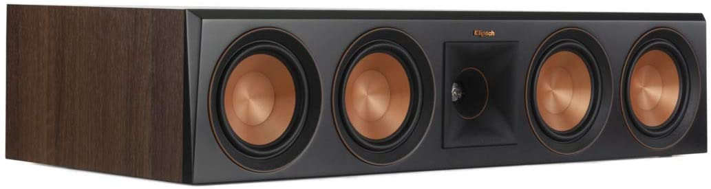 Klipsch RP-504C Center Channel Speaker (Walnut)
