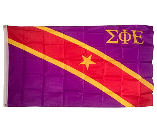 Sigma Phi Epsilon Chapter Fraternity Flag 3 x 5 Polyester Use as a Banner Sign Decor sig ep For Sale